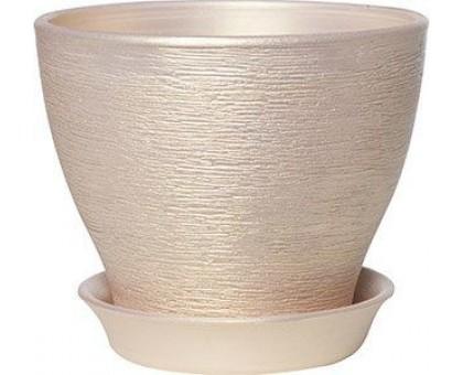 Горшок керамический Ксения перламутр
