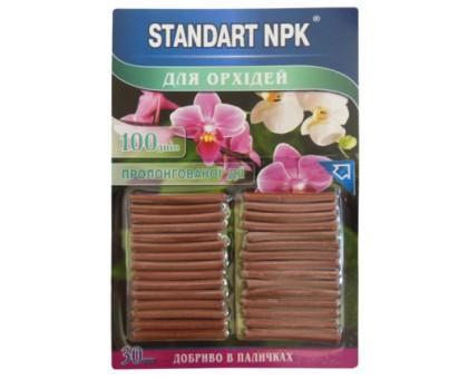 Удобрение Стандарт NPK для орхидей палочки